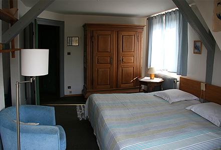 Des chambres pour deux personnes